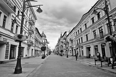 Piotrkowska street (origamisu) Tags: lodz d piotrkowska street ulica miasto komienice houses city buldings