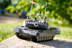 Boresight (ABS Defence Systems) Tags: vehicle military leopard lego 2a6 tank outdoors vibrant