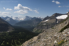 """Looking down to Siyeh Bend • <a style=""""font-size:0.8em;"""" href=""""http://www.flickr.com/photos/63501323@N07/28458514060/"""" target=""""_blank"""">View on Flickr</a>"""