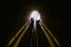 going underground (adrizufe) Tags: bilbao basquecountry metro metrobilbao underground fosteritos foster escalerasmecanicas updown nikonstunninggallery ngc aplusphoto nikon d7000 adrizufe adrianzubia