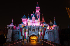 Sleeping Beauty Castle Night (Jared Beaney) Tags: disney disneythemeparks disneyland disneylandresort disneylandcalifornia disneylandanaheim disneyparks sleepingbeautycastle castle night nightphotography
