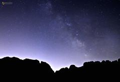 VL sobre el puig ( alfanhu) Tags: puigcampana valctia vialactea sella castellets nocturna nocturn night nightshot vl mw milkyway