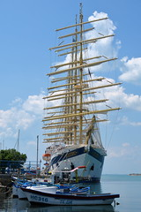 Nessebar IMG_4164 (SunCat) Tags: nessebar bulgaria europe travel vacation 2016 all barenecessities goldenhorn cruise canon powershot g3x royalclipper tallship