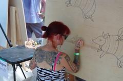 20160827PENTAX K-50-009 (ramseybuckeye) Tags: urban scrawl franklinton columbus ohio art artists pentax life paint canvas mural murals gallery 2016 august 27
