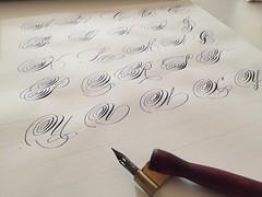 IMG_4520 (xelo garrigs) Tags: caligrafa calligrafia calligraphy pointedpen spencerian penmanship ornamentalscript