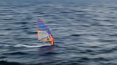 Windsurfer (borjamuro) Tags: barcelona agua water mar sea ocean wind viento windsurfer surf deporte sport olas ola wave waves nikon d7100 catalunya cataluna cataluña spain españa espana