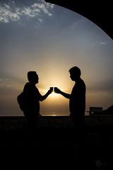 Coffee time (alvinpurexphotography) Tags: coffee morningshoot sunrise silhouette friendship cornichgrapher