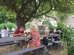 St Hans (radiowood) Tags: gotland medieval visby cafe sthans