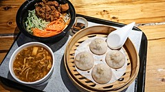 Soup Dumplings, Cold Noodles & Hot-and-sour Soup (Billy K. Chen) Tags: nyc newyork food chinesefood gourmet restaurant fastfood soupdumplings noodles brooklyn downtownbrooklyn