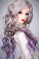 Violet Moon (Amadiz) Tags: amadiz amadizstudio wig wigs bjd abjd doll soom breccia