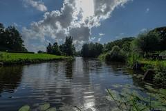 Clouds above Zegersloot (koos.dewit) Tags: 2016 alphenadrijn fuji fujixe2 fujifilm fujinonxf1024mm holland koosdewit koosdewitnl thenetherlands zegersloot zuidholland clouds landscape reflections water