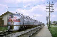 CB&Q E9 9989A (Chuck Zeiler) Tags: cbq e9 burlington railroad emd locomotive galva zephyr train chz 9989a pole chuck zeiler