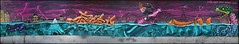 Binho x 2Rode x Lazoo x Bambam (Chrixcel) Tags: graff graffiti fresque paris toureiffel alligator animal tags cocacola bouteilleàlamer bottleinthesea lettrages binho 2rode bambamxlazoo rat snake serpent seineencrue crue