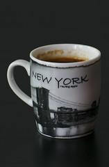 Espresso - New York Style (orellgarten) Tags: espresso coffee kaffee tasse cup newyork nyc bigapple