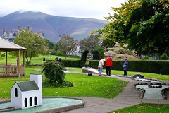 Mini golf (timnutt) Tags: cumbria lakedistrict britain rural countryside golf mini keswick park elderly old people pensioners