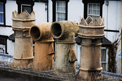 let's play some urban chess - HTT! (lunaryuna) Tags: uk wales conwy architecture buildings urbanconstructs walkinthecity rooftops chimneypots historicvillage urbanchess funny textures texturaltuesday lunaryuna