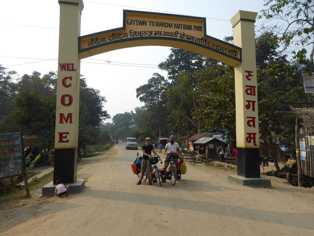 P&P enter Bardia