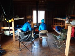 Return to Deer Creek Cabin and Happy B-day Jen (Doug Goodenough) Tags: bicycle bike cycle ride pedals spokes dirt mud snow views spring 2015 15 march waha salmon river canyon jen scott saddie cabin drg53115 drg53115p drg53115pdeercabin drg531