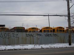 Schoolbus depot