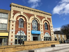 Photo of Kettering Corn Exchange frontage, Market Square, Kettering