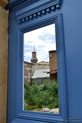Mosque through the Window (@CyprusPictures) Tags: blue window cyprus mosque nicosia kalopaska cypruspictures photosofcyprus easterincyprus thulbornchapmanphotography
