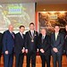 IHF2015 Tim Fenn, Bobby Kerr, Jim Dollard,  Stephen McNally, Minister Ring, TD, Alan Waite and Dr Howard Hastings OBE