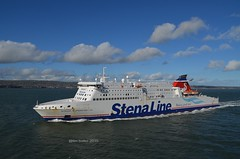 Business as Usual (@ tb 2018) Tags: ferry belfast cairnryan stenaline tallink stenanordica stenasuperfastviii