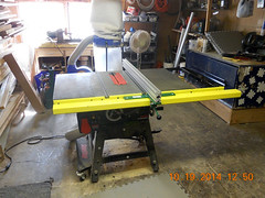 Hank Kennedy table saw project - diy guide rails 23