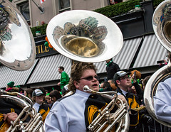 Reflected Tuba (Rob Whittaker Photography) Tags: ireland dublin reflection portraits canon candid streetphotography trumpet tuba fancydress stpatricksday saintpatricksday damestreet paddiesday whittaker 2015 canonphotography metalreflection patricksdayparade robertwhittaker stpatricksdaydublin dublinparade canonireland canon5dmkiii irishportraits canon70300l candidireland sazzoo robwhittaker robwhittakerphotography sazzoocom robertwhittakerphotography stpatricksday2015 robwhittakerphotography irishfancydress reflectedinstrument