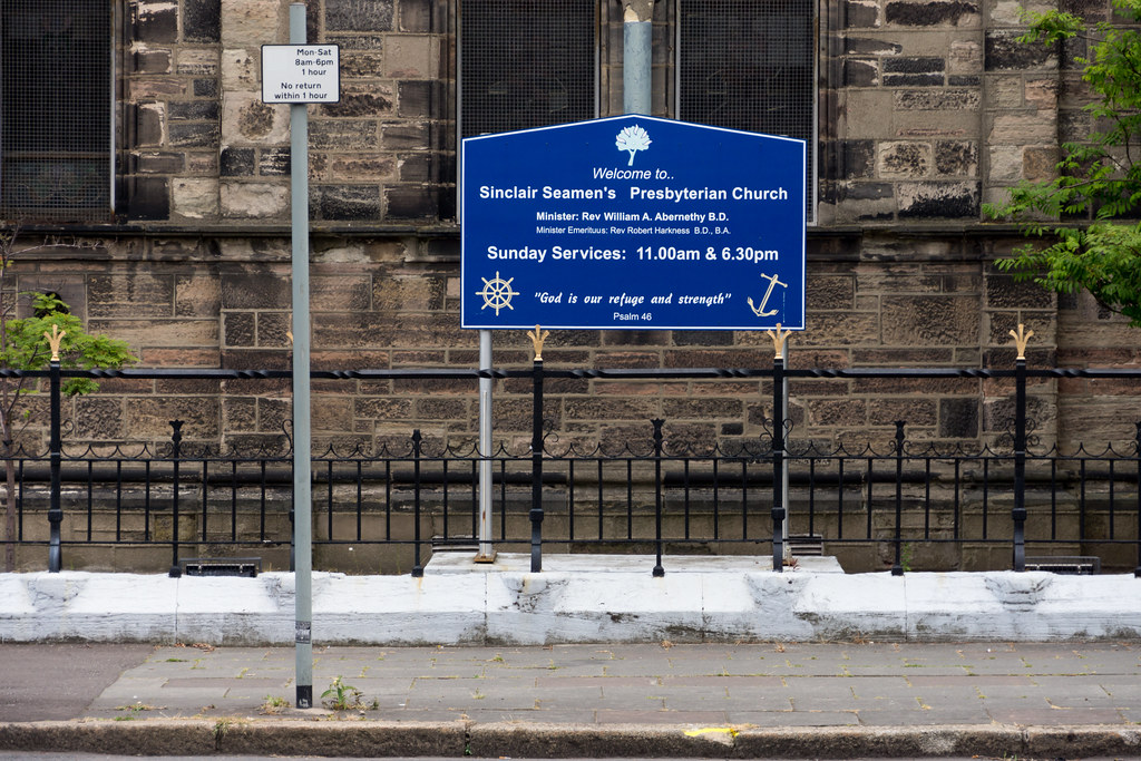 Sinclair Seamen's Church Is Located In The Dockland Area Of Belfast Known As Sailortown REF-102886