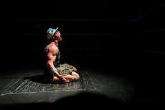 Hoodslam (arterial spray) Tags: show california underground oakland fan funny punk metro wrestling crowd performance match wrestler fans jackdaniels 2015 hoodslam dalliswillard