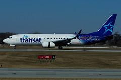 C-GTQG (Air Transat) (Steelhead 2010) Tags: boeing b737 airtransat b737800 yhm creg cgtqg