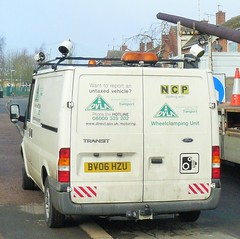 DVLA Clamping Van NCP Oakham Rutland (@oakhamuk) Tags: rutland van oakham ncp clamping dvla martinbrookes