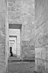 (Germano_0x) Tags: bw italy rome roma geometric geometrico architecture walking person persona italia bn minimalism minimalismo eur minimalistic architettura biancoenero rationalism razionalismo camminando