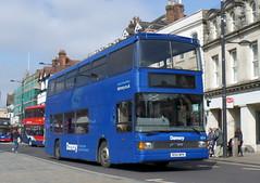Damory 1654 - R154NPR (Southern England Bus Scene) Tags: salisbury weymouth 1654 damory r154npr