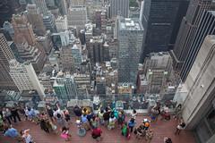 New York. View from Rockefeller Center (Oleg.A) Tags: nyc usa newyork unitedstates manhattan rockefellercenter viewpoint megalopolis