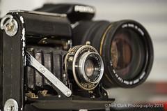 Evolution (Neil Clark) Tags: stilllife vintagecamera pentaxk10d vivitar75205f38 zeissikonklio