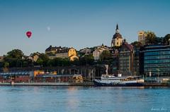 Stockholm (Dominic Doe) Tags: travel photography stockholm airbaloon nikon18200mm gamlastam nikond7000