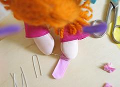 Em seguida, contorne com um pedacinho de arame e torça para não soltar. (Ateliê Bonifrati) Tags: cute diy artesanato craft tutorial pap passoapasso bonifrati
