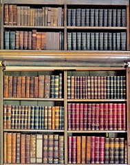 Calke Abbey, Derbyshire (bodythongs) Tags: england house english abbey leather architecture book office nikon estate nt library derbyshire books grade crewe national trust mansion baroque bibliothèque shelves livres neoclassical listed calke ticknall harpur i d5100 bodythongs