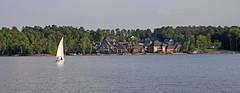 Pilgrim Point Panoramic (V-rider) Tags: lake sc water spring sailing lexington may boating recreation breeze murray ralph rhm vrider97 lmmayday