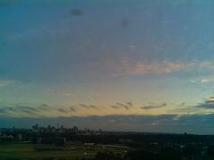 Sydney 2016 Jul 12 07:03 (ccrc_weather) Tags: ccrcweather weatherstation aws unsw kensington sydney australia automatic outdoor sky 2016 jul earlymorning