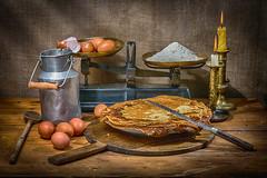 Crpes , made in Pas de Calais (Gremine) Tags: farine sucre cuisine rogue strobist crpes levure bire erea cooking plat rgional food cake rgionale recette oeuf egg