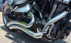 Yamaha Raider (Chad Horwedel) Tags: bike illinois motorcycle yamaha sterling raider yamaharaider sterlingmainstreet