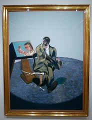 Francis Bacon : Portrait of George Dyer in a Mirror, 1968. (neppanen) Tags: madrid portrait art museum painting francis george bacon spain dyer francisbacon maalaus taide muotokuva espanja thyssenbornemisza georgedyer kuvataide thyssenbornemiszamuseum discounterintelligence maalaustaide sampen