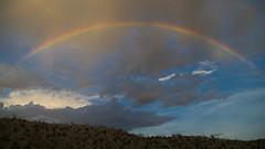 Dream? (TastyPrawn) Tags: texas desert mountains bigbend bigbendranch bigbendstatepark bigbendranchstatepark westtexas travel rainbow rainbows sky clouds