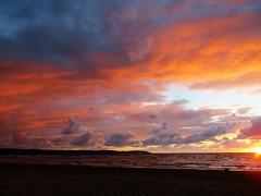 Twilight time (IMG_7286) (akedanerek) Tags: shore twilight serene ocean waterfront laholmbay allnaturesparadise