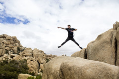 Power Rangers (dominate15) Tags: findyourpark nationalparks explore travel outdoors hiking outside climb joshuatree jump jumping jtree