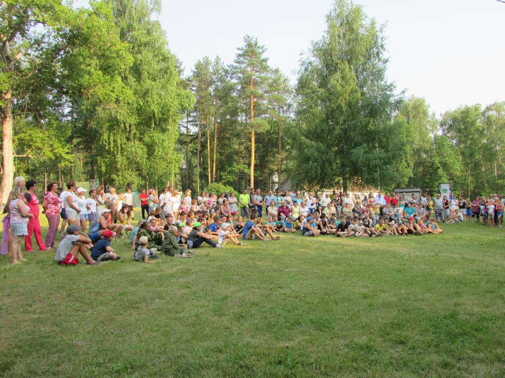 Набор в палаточный лагерь «Турист»