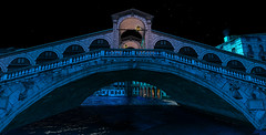 Venice... (AlienmausAllen) Tags: bridge blue venice night romance sl explore secondlife moonlight sim alienmausallen